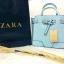 ZARA สวยที่สุด เริ่ดคุ้มค่าสมราคา งานเนี้ยบเป๊ะ กับรุ่นขายดีประจำปีรุ่นนี้ แบบคุณหนูสวยๆจาก Zara กระเป๋าทรง Tote Bag แต่งปากกระเป๋าด้วยเข็มขัดร้อยพับปลายทบลงมาสุดเก๋ มีสายสะพายยาว แพ็คเกจมาแบบมีถุงผ้ากันฝุ่น พร้อมถุงกระดาษจากช็อป Zara แถมด้านในกระเป๋านังใ thumbnail 3