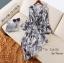 เสื้อผ้าเกาหลีพร้อมส่ง เสื้อซีฟอง ดีเทลน่ารักมาก thumbnail 4