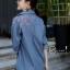 เสื้อผ้าเกาหลีพร้อมส่ง เสื้อยีนส์ปักดอก งานผ้ายีนส์ Denim thumbnail 2