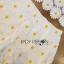 เสื้อผ้าเกาหลี พร้อมส่งเซ็ตเสื้อและกางเกงผ้าลูกไม้ลายดอกเดซี่สีขาว-เหลือง thumbnail 10