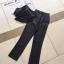 เสื้อผ้าแฟชั่นพร้อมส่ง Set เซ็ทเสื้อและกางเกงขายาว เนื้อผ้าสวยมากๆ thumbnail 7