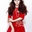 ชุดเดรสเกาหลี พร้อมส่ง เดรสสั้นสีแดงสด แต่งประดับมุกรอบตัวสวยเก๋น่ารักมากๆค่ะ เนื้อผ้าหนาเกรดดี thumbnail 1