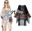 Ria Hippy Floral Printed Fringe Outerwear thumbnail 1
