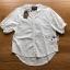 เสื้อผ้าเกาหลีพร้อมส่ง เสื้อผ้าคอตตอนสีขาวปักและฉลุลายสไตล์วินเทจ thumbnail 10