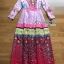 Ella Fancy Colourful Embellished and Printed Crepe Long Dress thumbnail 6