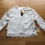 เสื้อผ้าเกาหลี พร้อมส่งจัมเปอร์ผ้าลูกไม้สีขาวสไตล์สปอร์ตผสมหวาน thumbnail 6