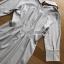 เสื้อผ้าเกาหลีพร้อมส่ง เชิ้ตเดรสผ้าคอตตอนลายทางสไตล์มินิมัล thumbnail 13