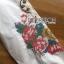 เสื้อผ้าเกาหลี พร้อมส่งเชิ้ตเดรสสีขาวปักลายครอสติส thumbnail 13