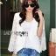 Maria Elegant Double-Breast White Lace Jacket thumbnail 3