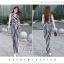 เสื้อผ้าเกาหลี พร้อมส่งJumpsuit คอปก งานสวยมากๆผ้าดีสุดๆ thumbnail 2