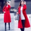Long red coat thumbnail 1