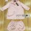 เสื้้อผ้าเกาหลี พร้อมส่งเซ็ตชุดนอนผ้าซาตินปักลายพร้อมผ้าปิดตา thumbnail 12
