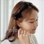 ต่างหูเพชรงานดีไซส์หรูหรา เพชร CZ ราคา 890฿ Made in korea thumbnail 4
