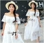 Emilia Bohemian Off-Shoulder Embroidered Cotton Lace Maxi Dress thumbnail 1