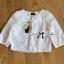 เสื้อผ้าเกาหลี พร้อมส่งเสื้อคลุมผ้าคอตตอนปักลายดอกไม้ thumbnail 13
