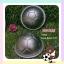 พิมพ์ครึ่งวงกลม ลายฟุตบอล ขนาด 8 เซนติเมตร (H002) /1ชิ้น thumbnail 1