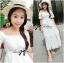Emilia Bohemian Off-Shoulder Embroidered Cotton Lace Maxi Dress thumbnail 5