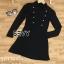 ชุดเดรสเกาหลี พร้อมส่งMini dress ไหมพรมลุคเรียบหรู thumbnail 7