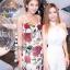 Dolce & Gabbana Red Roses Printed Evening Dress thumbnail 3