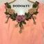 เสื้อผ้าเกาหลี พร้อมส่งชุดเดรสผ้าโพลี Jaquard มีลายนูนในตัวผ้า thumbnail 4
