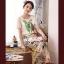 เสื้อผ้าเกาหลี พร้อมส่ง Set เสื้อกระโปรงลายชายทะเลโทนสีพาสเทล กระโปรงทรงเอพิมพ์ลายใบไม้สีสันแสนหวาน thumbnail 1