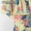 เสื้อผ้าเกาหลี พร้อมส่ง งาน Maxi ผ้าชีฟองเนื้ออย่างดี พิมลายดอกไม้สีสดใส รับ Summer thumbnail 14