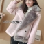 Lisa Pastel Faux Fur and Suede Jacket thumbnail 1