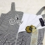 เสื้อผ้าเกาหลี พร้อมส่ง Set เสื้อกล้ามชายระบาย มาพร้อมกับกางเกงขาห้าส่วน thumbnail 12