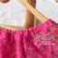 ชุดเดรสเกาหลี พร้อมส่ง มินิเดรสผ้าลูกไม้สีสดใส แพทเทิร์นทรงoversizedใส่ง่าย ใส่สบาย thumbnail 9