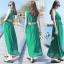 Elegant Sleeveless Bohemian Style Open Back Maxi Dress thumbnail 3