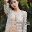 Gabby Flower Lace Pearl Embroidered Jacket thumbnail 1