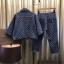 เสื้อผ้าแฟชั่นพร้อมส่ง เซ็ท เสื้อ+กางเกง ยีนส์แท้ 100% thumbnail 8