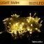 ไฟกระพริบ LED สีวอมไวท์ ไฟประดับตกแต่ง ตามงานเทศกาลต่างๆ thumbnail 1