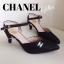Neww!! แบบใหม่ไฮโซ ส้นสูงกลิตเตอร์สไตล์ Chanel งานหรูเริ่ดดด thumbnail 6