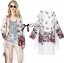 Ria Hippy Floral Printed Fringe Outerwear thumbnail 6