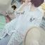 เสื้อผ้าเกาหลี พร้อมส่ง เชิ้ตเนื้อผ้าโพลีเอสเตอร์ผสมคอตตอน thumbnail 2