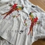 เสื้อผ้าเกาหลี พร้อมส่งเชิ้ตคอกลมผ้าคอตตอนสีขาว thumbnail 8