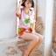เุสื้อผ้าเกาหลีพร้อมส่ง ชุดนอนแขนสั้น ขาสั้น ลายสับปะรด thumbnail 4