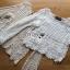 เสื้อผ้าเกาหลี พร้อมส่งเสื้อผ้าถักโครเชต์ลายลูกไม้สไตล์เบิสกวินเทจ thumbnail 12