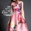 เสื้อผ้าเกาหลี พร้อมส่ง เดรสเนื้อผ้า silk หรูหรา เซ็ทตัวเป็นทรงสวย thumbnail 2