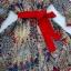 ( พร้อมส่ง) เดรสลุค formal casual เรียบหรู เก๋ด้วยลายผ้าดีเทลตัดต่อขอบชุดด้วยสีแดง ให้ลุคสะดุดตา Vด้านหน้าค่ะ จั๊มเอวพร้อมเชือกผูกตกแต่งชุด มีซับในในตัวนะคะ thumbnail 12