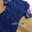 ชุดเดรสเกาหลี พร้อมส่งเดรสผ้าโพลีเอสเตอร์กระโปรงระบายปักลายดอกไม้สีสดใส thumbnail 14