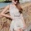 ( พร้อมส่ง) Set White Cami Blossom Lace match with Short by Seoul Secret thumbnail 4