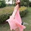 ชุดเดรสเกาหล ีพร้อมส่งPinky Garden Dress thumbnail 5