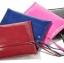 CHARLES&KEITH กระเป๋าทรงคลัช สินค้าผลิตเกินออเดอร์ ของแท้ 100% มาพร้อมสายคล้องแขน อะไหล่ทอง ใส่ ipad mini thumbnail 2