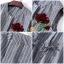 เสื้อผ้าแฟชั่นพร้อมส่ง ชุดเซท เสื้อ+กางเกง เป็นผ้าจอเจียร์สีเทา thumbnail 10