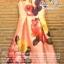 เสื้อผ้าเกาหลี พร้อมส่ง เดรสเนื้อผ้า silk หรูหรา เซ็ทตัวเป็นทรงสวย thumbnail 10