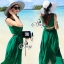 Elegant Sleeveless Bohemian Style Open Back Maxi Dress thumbnail 2