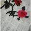 เสื้อผ้าเกาหลี พร้อมส่งเสื้อลูกไม้ปัก ใช้ผ้า 2 ตัว thumbnail 5