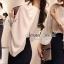 เสื้อผ้าเกาหลี พร้อมส่ง Sprucely Set Balloon Sleeve with Pants thumbnail 3
